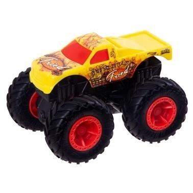 Hot Wheels Monster Trucks Çek Bırak Arabalar Renkli